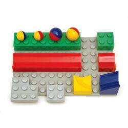 Bolyongolyó Alaplap (1 alaplap + 8 építőelem)