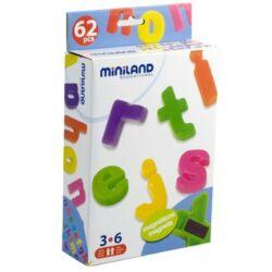 Mágneses kisbetűk Miniland