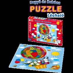 Bogyó és Babóca léghajó _puzzle