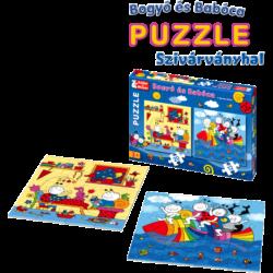 Bogyó és Babóca szivárványhal _puzzle