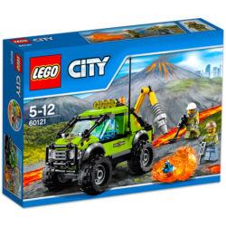 LEGO CITY: Vulkánkutató kamion