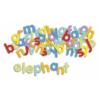 Kép 2/2 - Mágneses betűkészlet - Kisbetűk - Djeco fejlesztő játék 4 éves kortól