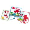 Kép 2/2 - Alakzatok és formák, Djeco fejlesztő játék 3-6 éves korig