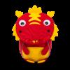 Kép 1/3 - Affenzahn Minihátizsák Dario Dragon, a sárkány, 1-3 éveseknek