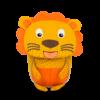 Kép 1/2 - Affenzahn Minihátizsák Lena Lion, az oroszlán, 1-3 éveseknek