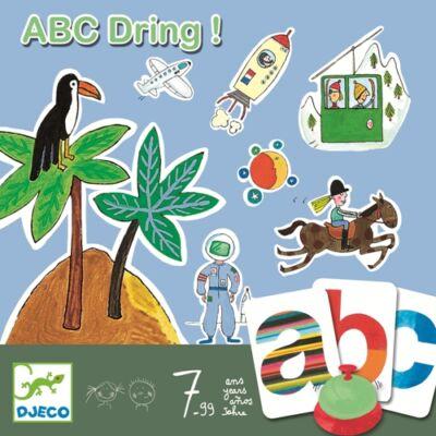 ABC Dring - szókincsfejlesztő, Djeco szinonímakereső társasjáték 7 éves kortól