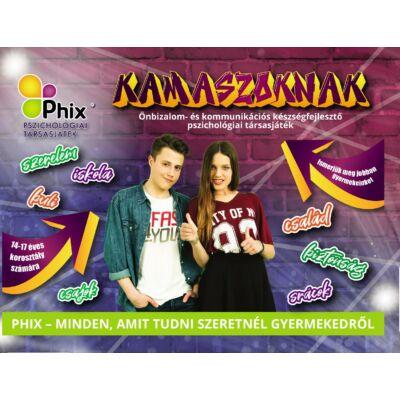 Phix kommunikációs, pszichológiai társasjáték 14-17 éves gyerekeknek
