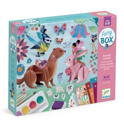 Kreatív műhely - Tündérdoboz - Fairy Box - Djeco kreatív készlet 6-10 éves korig
