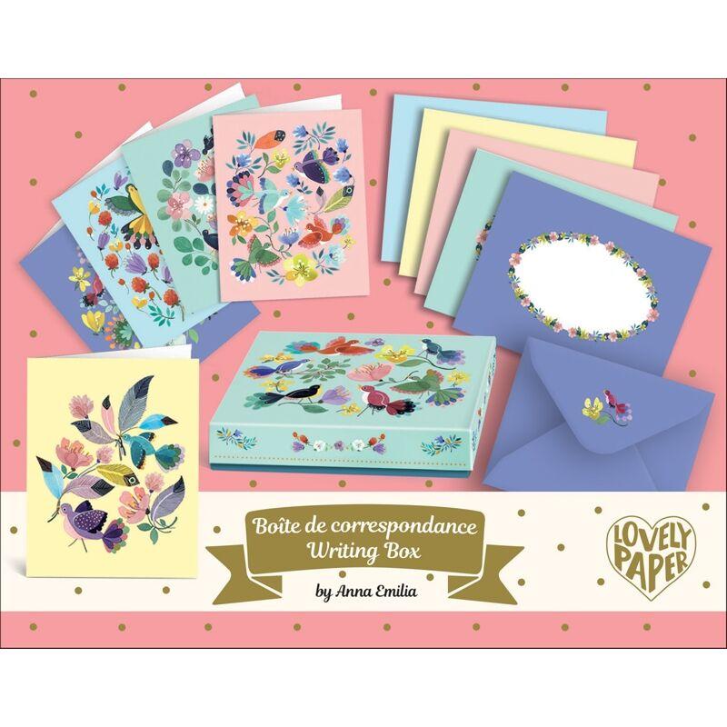 Levelezőlap készlet - Anna Emilia