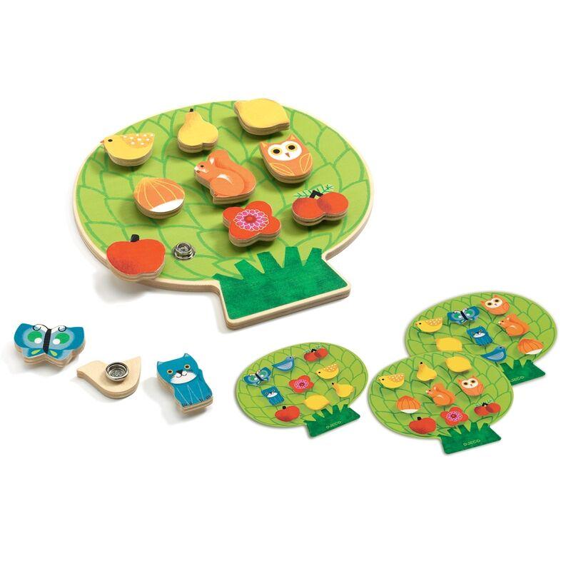 Képkirakó - Csitt-csatt, Djeco fejlesztő játék, 3 éves kortól