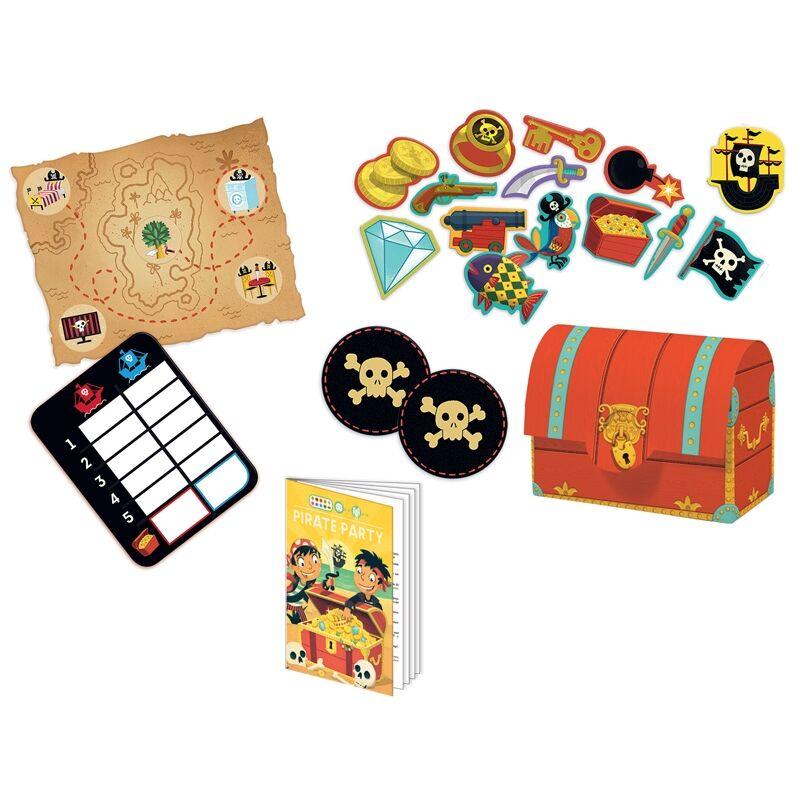 Társasjáték - Kalóz kaland, Djeco társasjáték 5-9 éveseknek