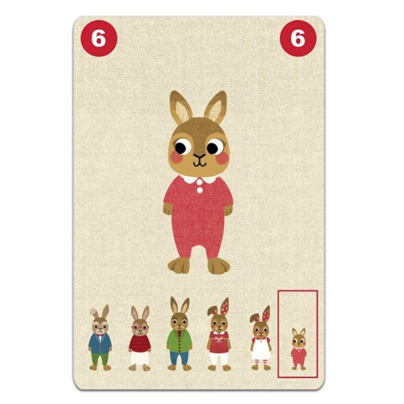 Kártyajáték - Összefogó, Djeco kártyajáték 5-10 éveseknek