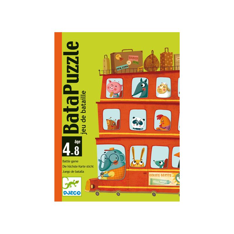 Csatározás - Djeco kártyajáték 4-8 éves korig