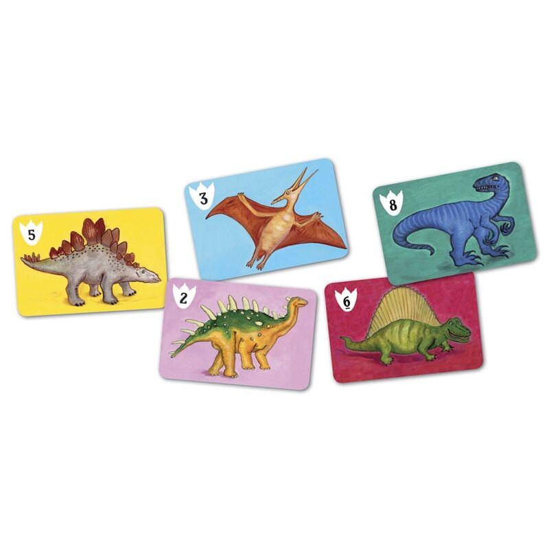 Kártyajáték - Dinók csatája, Djeco kártyajáték 5 éves kortól