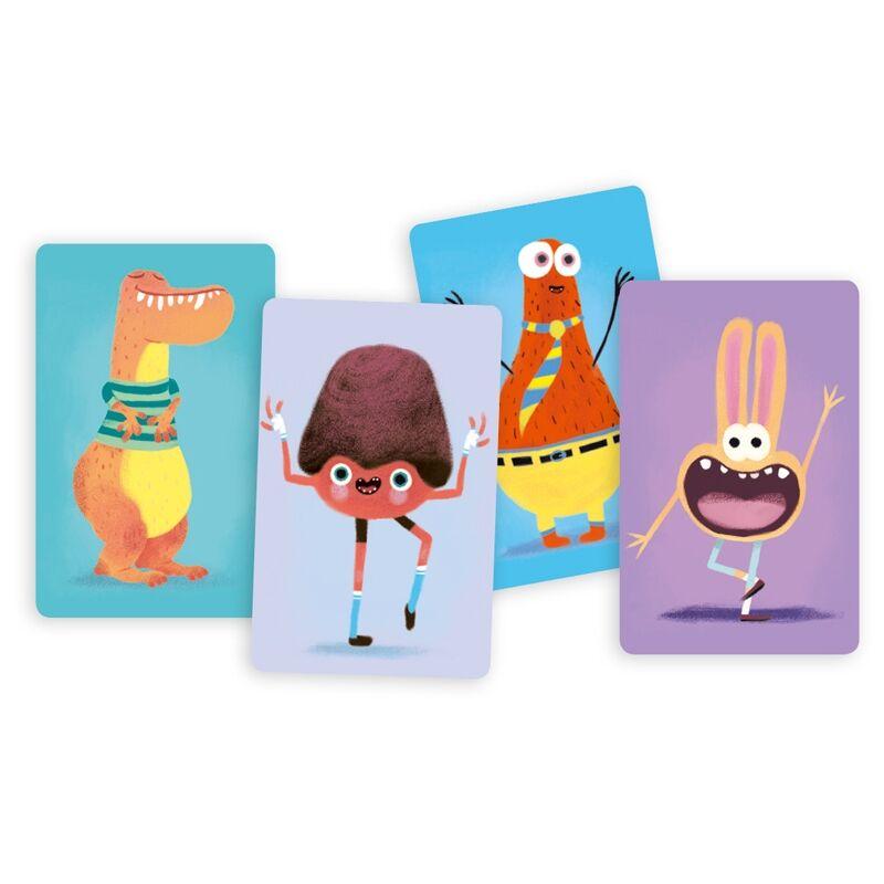 Kártyajáték - Grimaszoló, Djeco kártyajáték 5-9 éveseknek