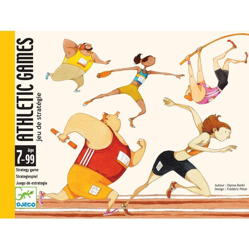 Kártyajáték - Atlétikai játékok, Djeco kártyajáték 7-99 éves korig