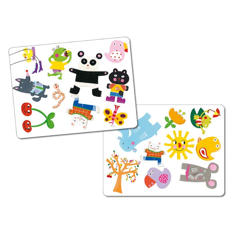 Minimatch - Djeco kártyajáték 3-6 éves korig