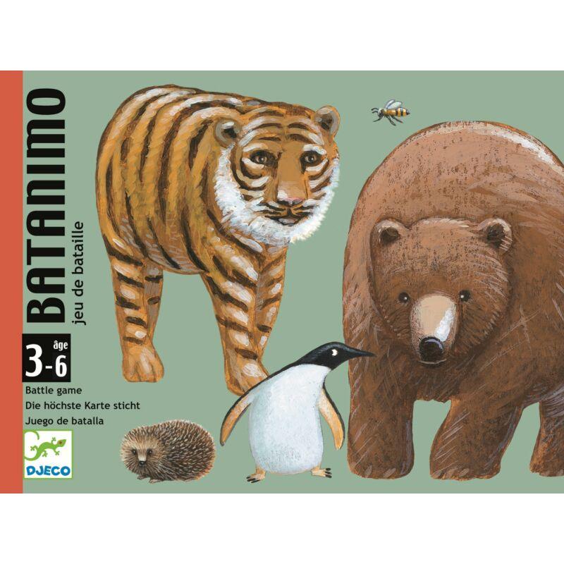 Batanimo - Djeco kártyajáték 3 éves kortól