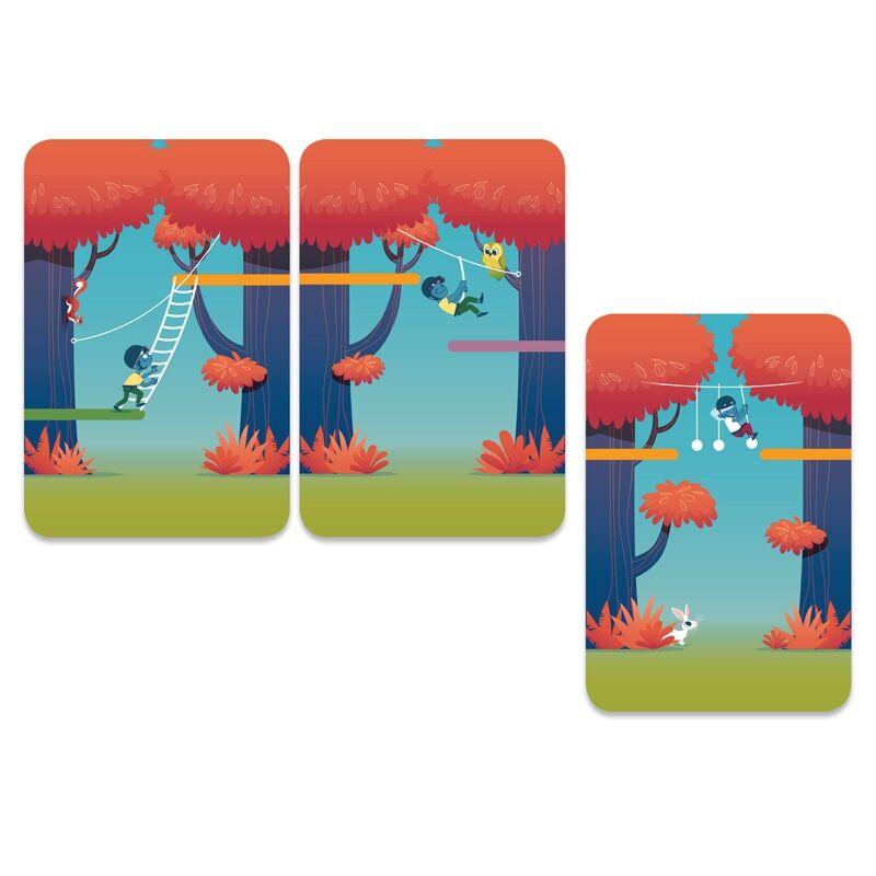 Kártyajáték - Kalandpark, Djeco kártyajáték 6-99 éves korig