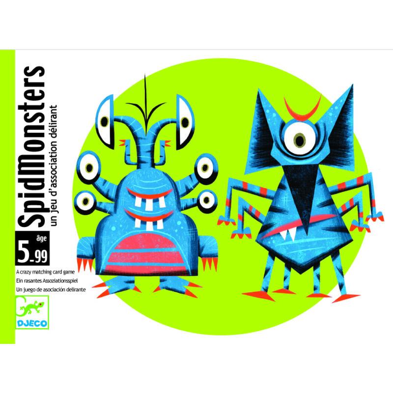 SpidMonster - Djeco kártyajáték 5-99 éves korig