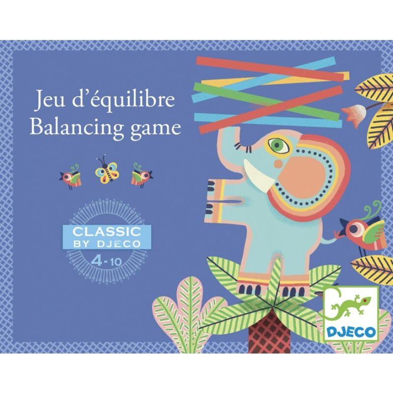 Egyensúlyozó elefánt - Djeco klasszikus társasjáték 4 éves kortól