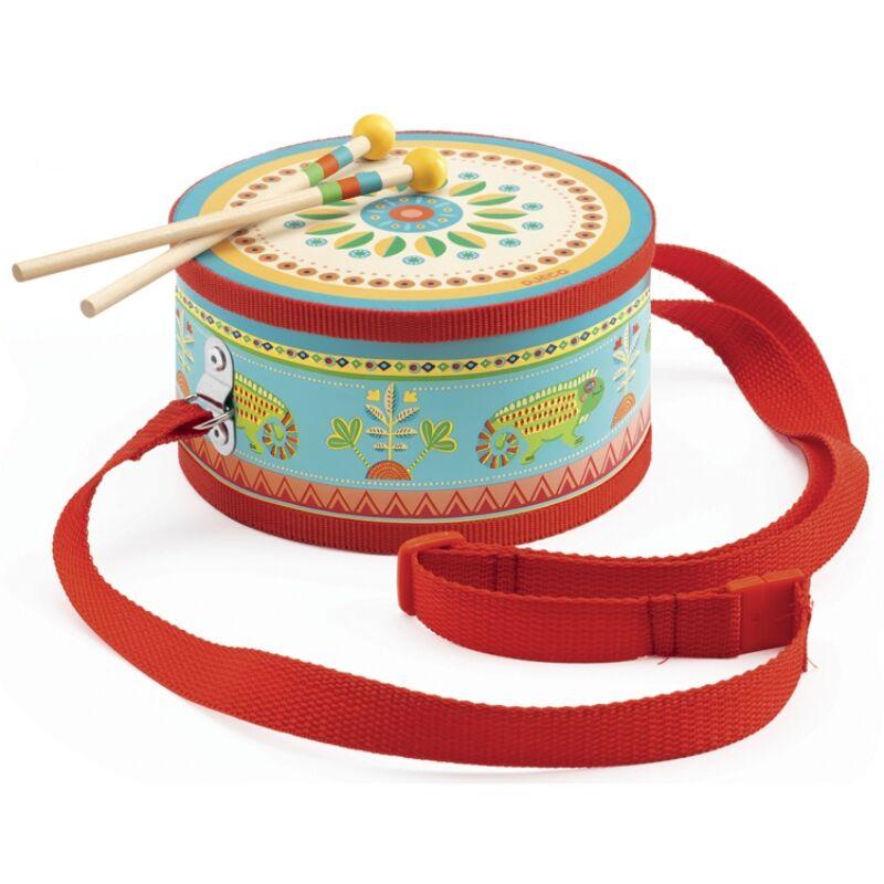 Játékhangszer - Menetdob - Djeco hangszer 2-4 éves korig