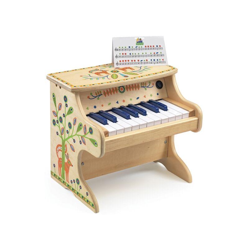 Játékhangszer - Zongora - Djeco hangszer 3-6 éves korig
