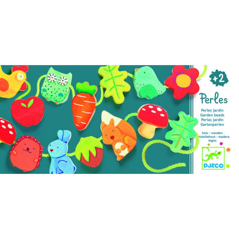 Kerti fűzőcske Djeco kreatív készlet 2 éves kortól