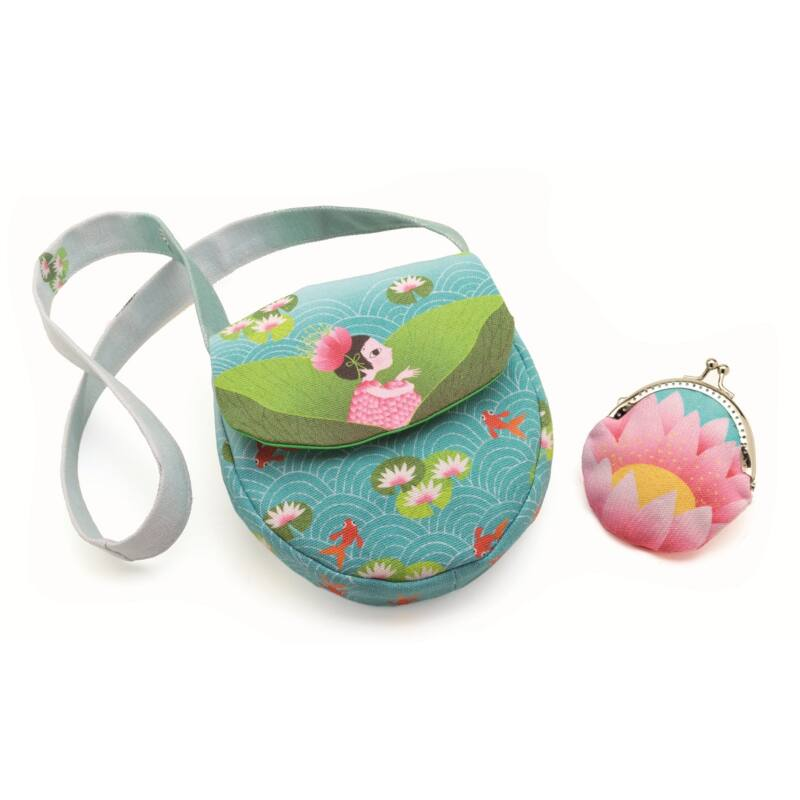 Vízi Lily - kistáska pénztárcával, Djeco táska