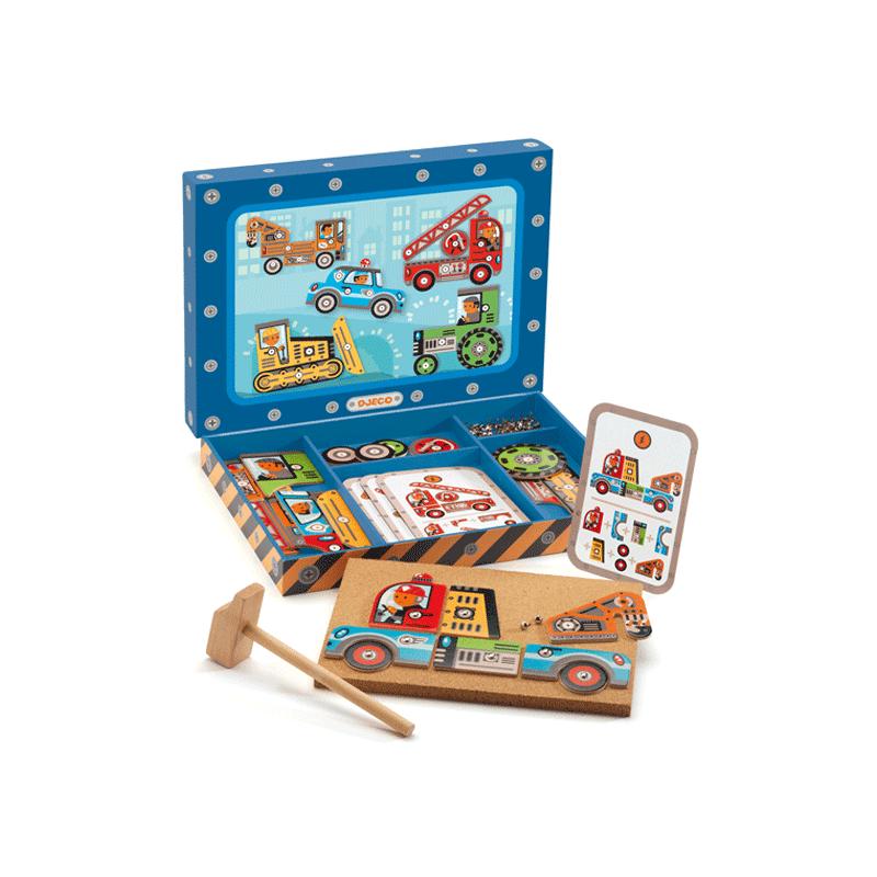 Kalapálós játék - Djeco szerepjáték 4-8 éves korig