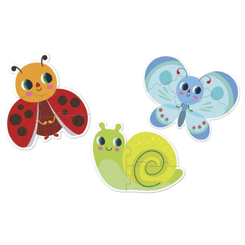 Primo puzzle - Kertben - Djeco puzzle 2-4 éves korig