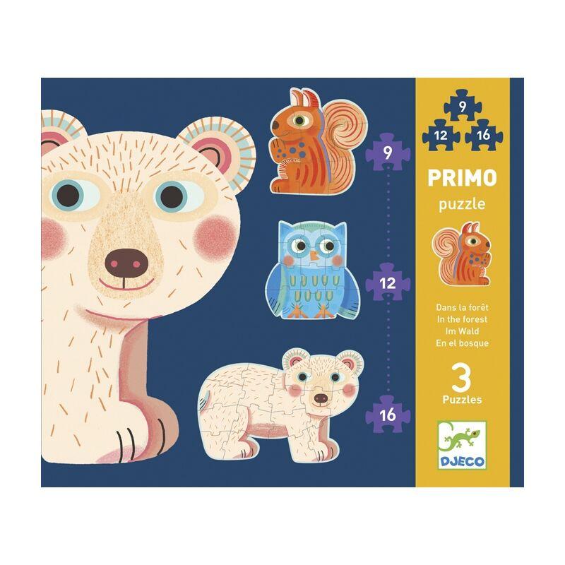Primo puzzle - Az erdőben