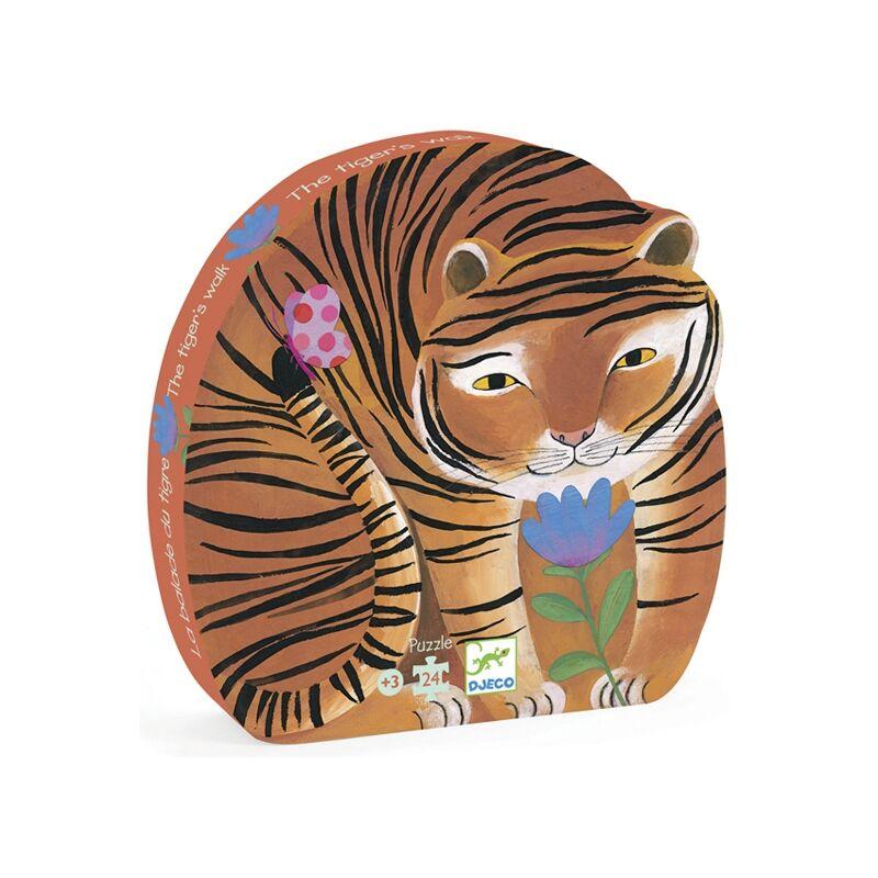 Formadobozos puzzle - A tigris sétája