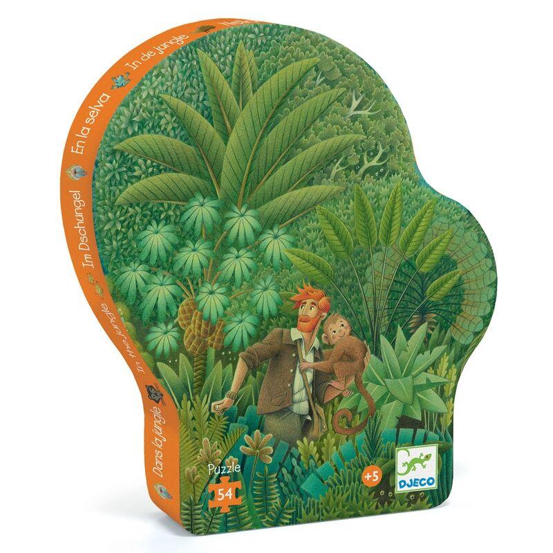Formadobozos puzzle - Dzsungel puzzle