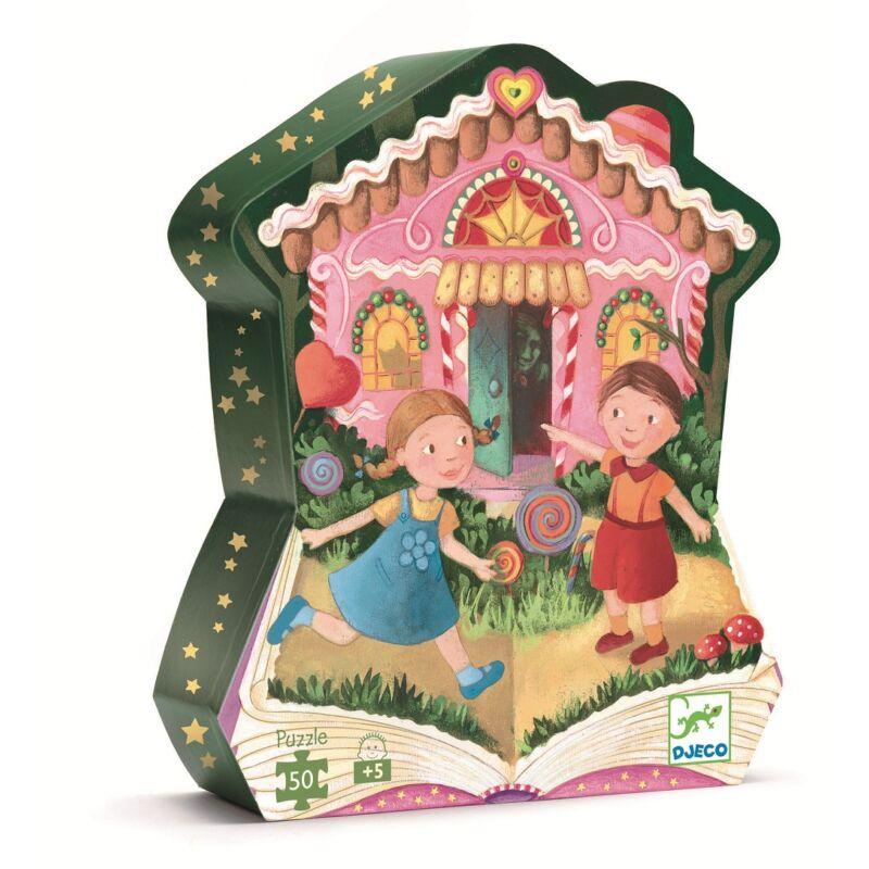 Jancsi és Juliska - 50 db-os kirakó, Djeco puzzle 3-6 éves korig