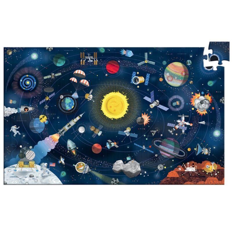Megfigyeltető puzzle - A világűr, Djeco megfigyelő puzzle