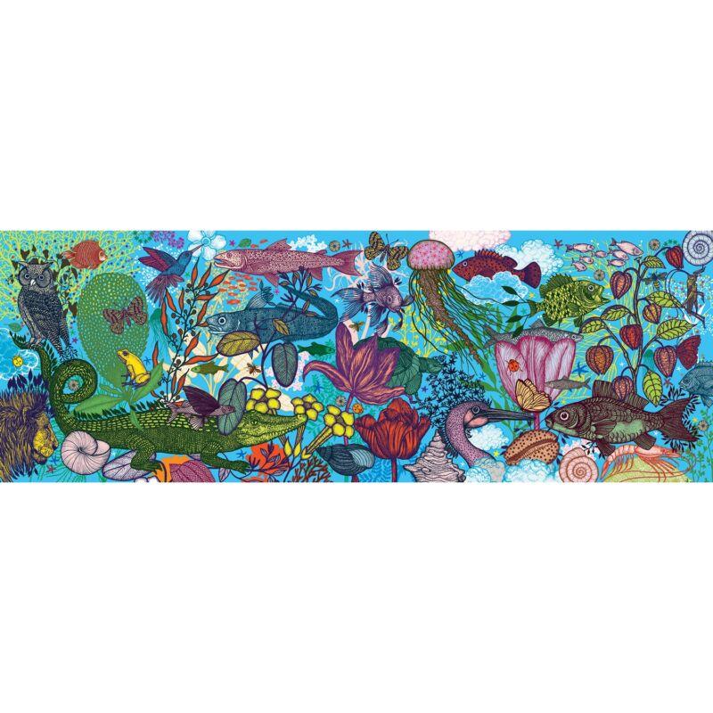 Művész puzzle - Föld és tenger