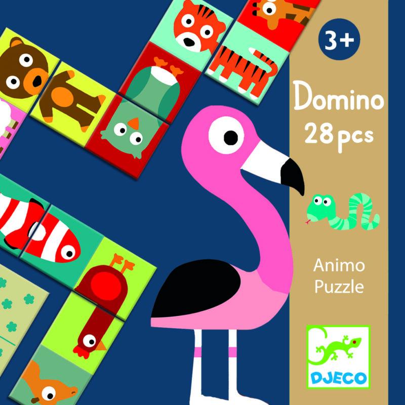 Állatos dominó, Djeco, 3 éves kortól