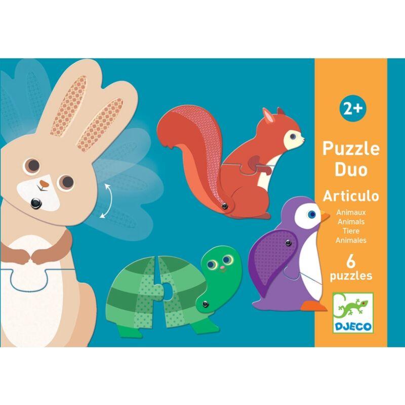 Párositó puzzle - Állatok