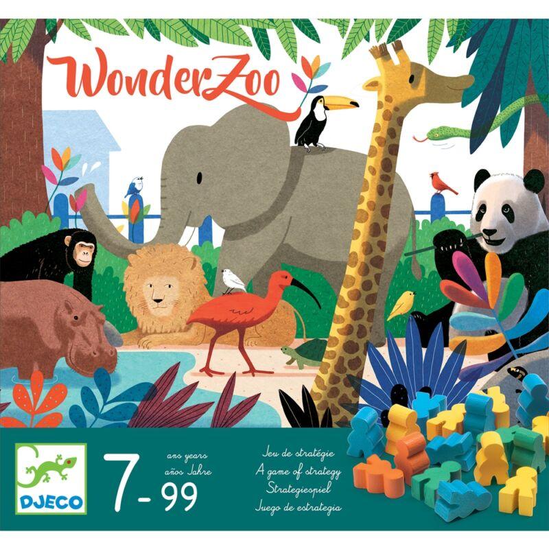 Társasjáték - Csodállatkert, Djeco taktikai társasjáték