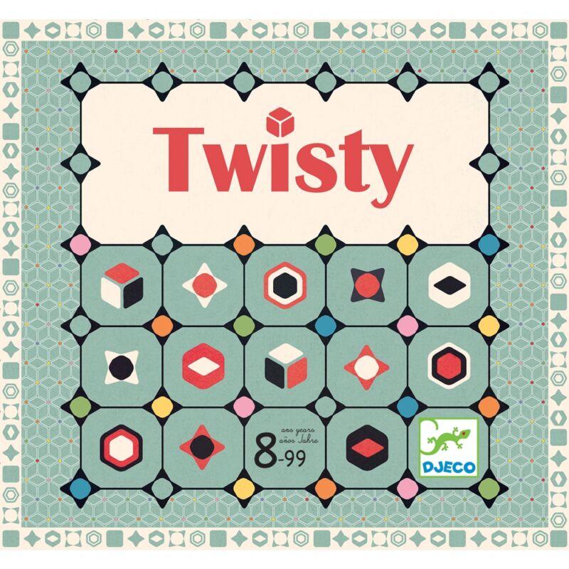 Twisty Kígyózó Djeco stratégiai társasjáték
