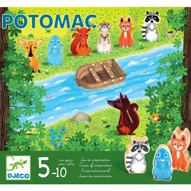 Potomac, Djeco koopeartív társasjáték, 5 éves kortól