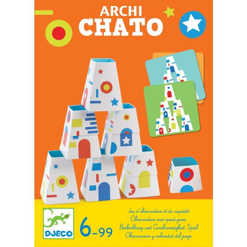 Archichato Tükörépítő térbeli társasjáték, Djeco, 6 éves kortól