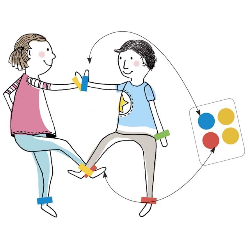 Társasjáték - Színérintő, Djeco parti játék