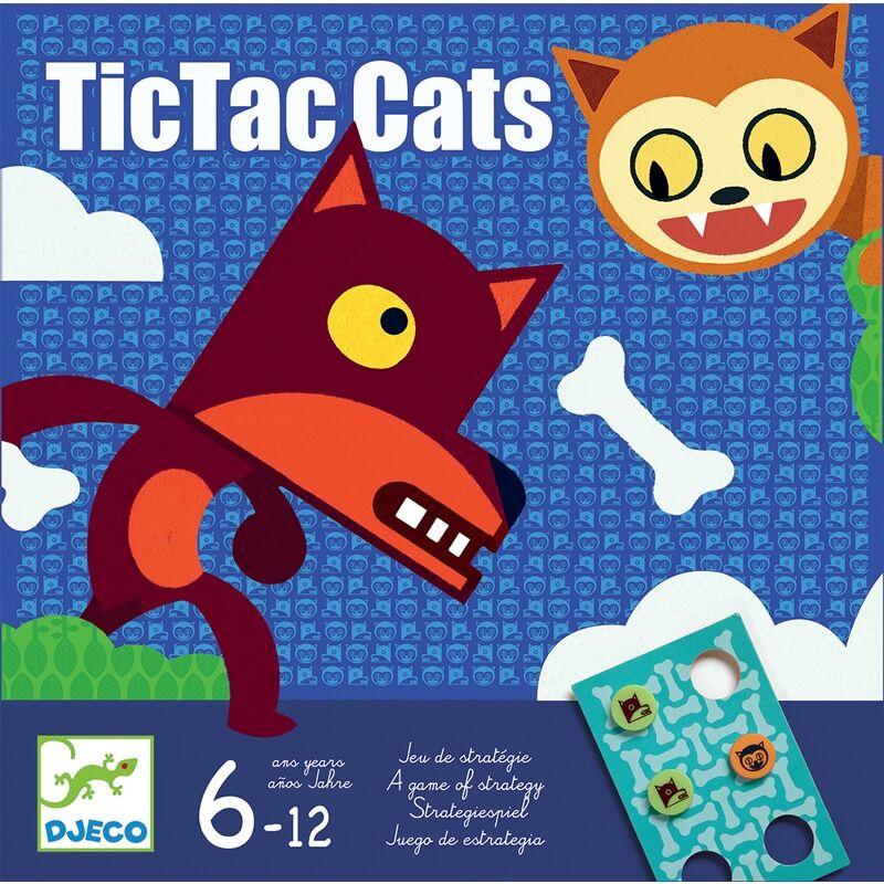 TicTacCats Djeco stratégiai társasjáték