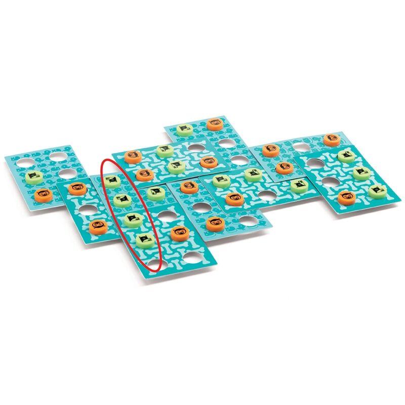 TicTacCats Djeco stratégiai társasjáték 6 éves kortól
