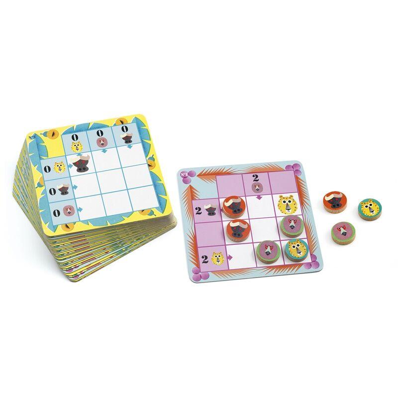 Logikai játék - Jaguár logika - Djeco logikai játék 7-99 éves korig