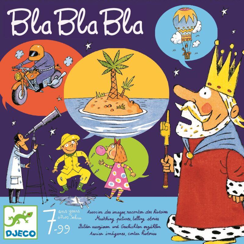 Bla bla bla - asszociációs családi társasjáték, Djeco játék 7 éves kortól