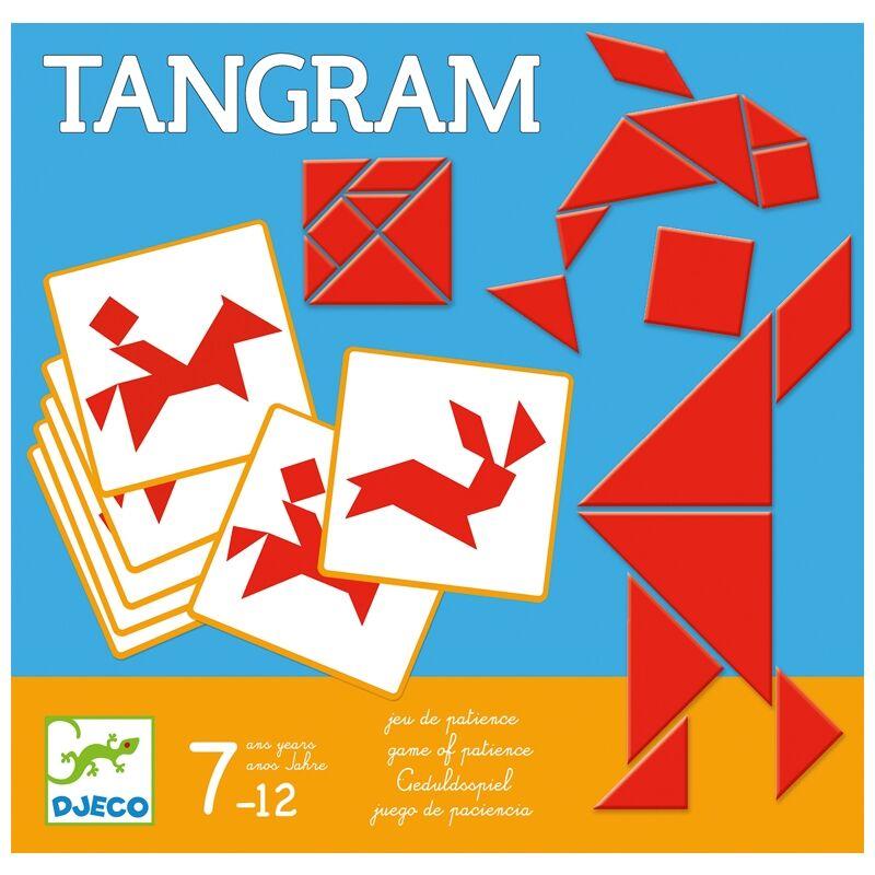Logikai játék - Tangram - Djeco logikai játék 7 éves kortól