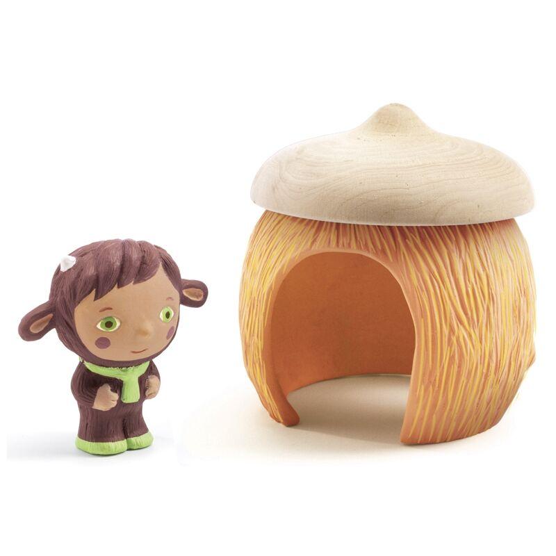 Artychou mesevilág - Kunyhócska, Djeco játék 1,5 éves kortól